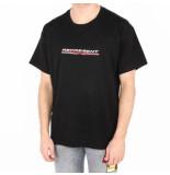REPRESENT Stretch logo t-shirt zwart