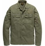PME Legend Long sleeve shirt cargo dusty olive groen