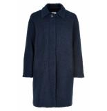 Numph Numayzille coat thinsulate blauw