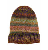 Numph Numelvina knit beenie hat multi coll