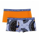 Muchachomalo Girls 2-pack short proud as peacock