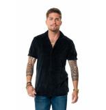 AH6 Velvet blouse - zwart