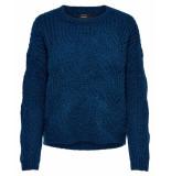 Only Pullover 15187600 onlhavana blauw