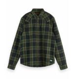 Scotch & Soda Overhemd 152189 groen