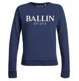 Ballin Est. 2013 Basic lady sweat blauw