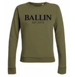 Ballin Est. 2013 Basic lady sweat groen