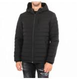 Moose Knuckles Fulcret mid lth hoodie zwart