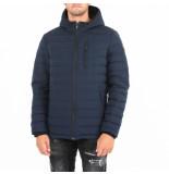 Moose Knuckles Fulcret mid lth hoodie blauw