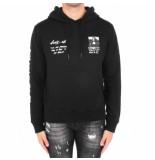 Off White Monnalisa slim hoodie zwart