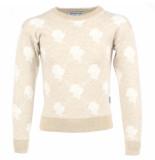 Reinders Reinders sweater logo wit