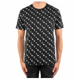 Off The Pitch All-over 2.0 tee zwart