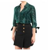 Elisabetta Franchi Moves Woens blouse groen