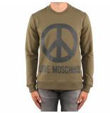Love Moschino Lim t logo pace groen
