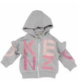 Kenzo Logo bg2 cardigan grijs