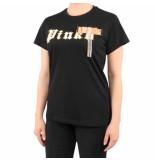Pinko Get lucky t-shirt zwart