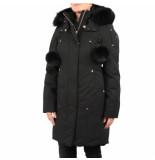 Moose Knuckles Stirling with fur zwart