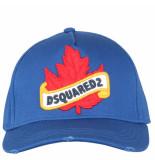 Dsquared2 Baseball pet blauw