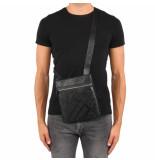 Versace Bag linea logo all over dis5 zwart