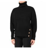 Elisabetta Franchi Moves Women's knitted sweater zwart