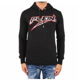 Philipp Plein Hoodie sweatshirt space pein zwart