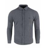 Gabbiano Piqué shirt l/s grey grijs