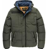 PME Legend Hooded jacket snowburst 2.0 beluga bruin