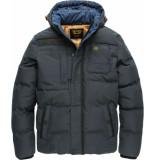 PME Legend Hooded jacket snowburst 2.0 jet black zwart