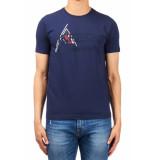 ICEBERG F011 t-shirt – blauw