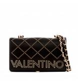 Valentino Valentino mandolino satchel tas zwart