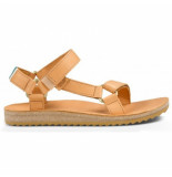 Teva Women original universal crafted leather tan beige