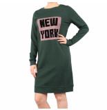 Nikkie New york sweatdress groen