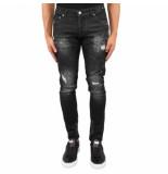 XPLCT Studios Liverpool jeans zwart