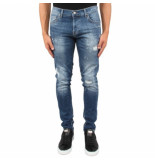 XPLCT Studios Liverpool jeans blauw