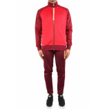 Off The Pitch Bound tracksuit rood