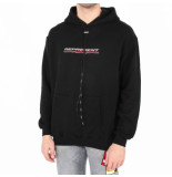 REPRESENT Stretch logo hoodie zwart