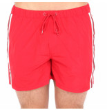 Airforce Swimshort tape rood
