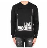Love Moschino Fepa sim fit-st ogo box zwart