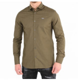 Philipp Plein Original shirt diamond cut groen