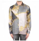 Versace Camicie tessuto grijs