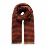 Maison Scotch scarf rood