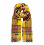 Maison Scotch scarf geel