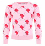 Reinders Reinders sweater logo roze