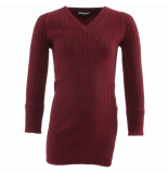 Reinders Twin set sweater rood