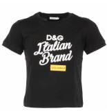 Dolce and Gabbana Kids T-shirt zwart