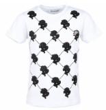 Reinders T-shirt logo mania wit