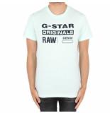 G-Star Graphic compact jerey blauw