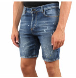 XPLCT Studios Travis short jeans blauw