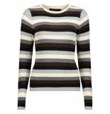 Vero Moda Vmstar ls o-neck blouse 10215352 light grey melange grijs