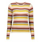 Vero Moda Vmstar ls o-neck blouse 10215352 mahogany roze