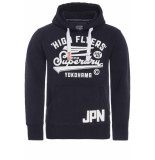 Superdry High flyers hood blauw